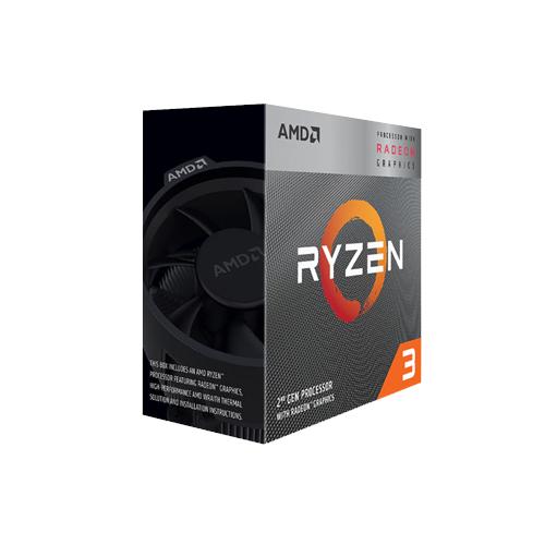 AMD Ryzen 3 3200G with Radeon Vega 8 Graphics 3rd Gen Desktop Processor  YD3200C5FHBOX