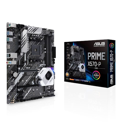 Buy Online Asus Prime X570 P Csm Amd X570 Atx Gaming Motherboard In India