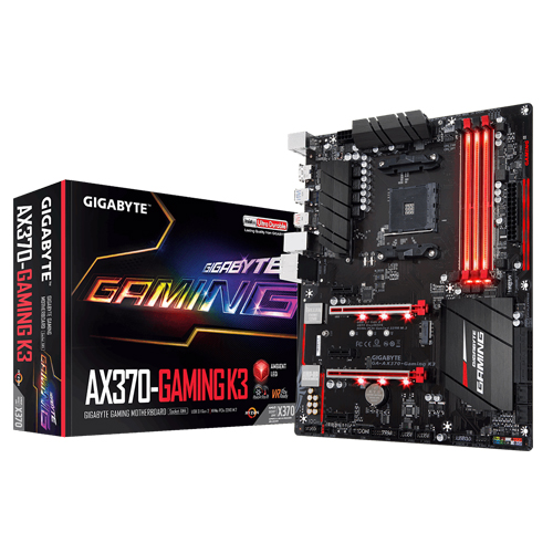 Gigabyte GA-AX370-Gaming K3 AMD X370 Chipset Motherboard