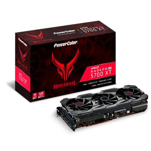 PowerColor Red Devil Radeon RX 5700 XT AXRX 5700 XT 8GBD6-3DHE/OC Graphic  Card